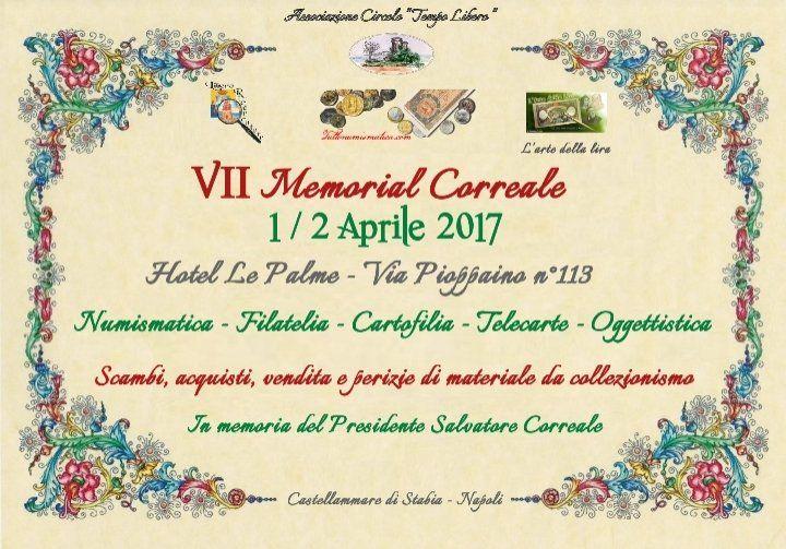 VII Memorial Correale - 1/2 Aprile 2017 @  - 1-Aprile https://www.evensi.it/vii-memorial-correale-12-aprile-2017/199109956