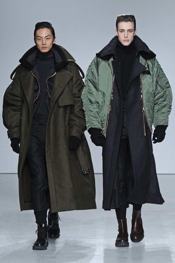Layering styles straight from the catwalk. #menswear #fashion