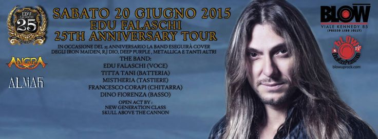 Metal Party - Edu Falaschi's Tour 2015