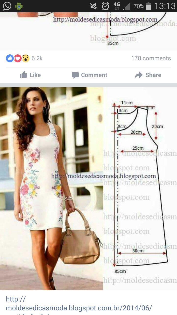 9 besten Rokkie patrone Bilder auf Pinterest   Kleidermuster ...