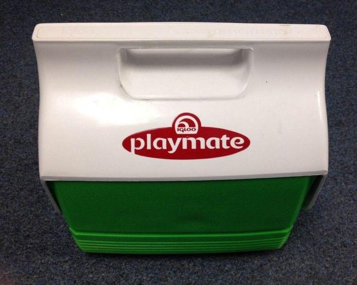 Igloo green white playmate cooler 10 x 10 x 7 - Igloo vintage ...