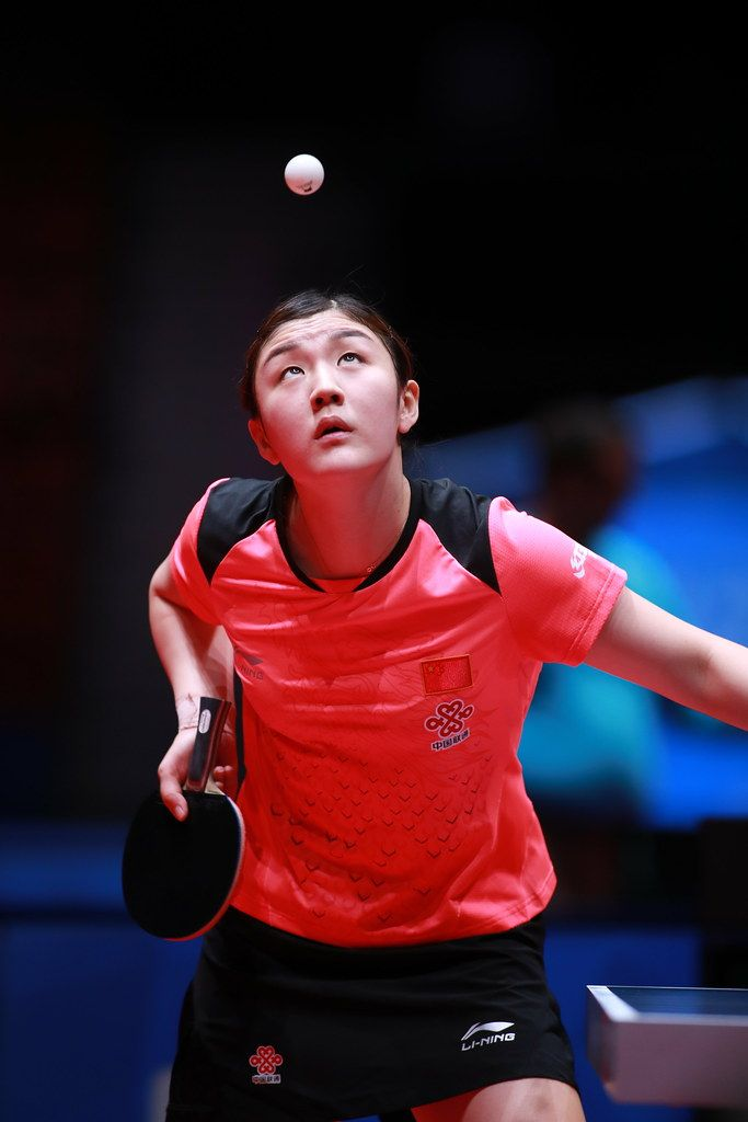 Chen Meng Ping Pong Table Tennis Player Table Tennis