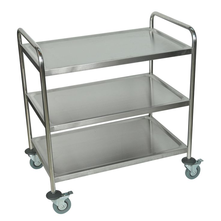 17 best ideas about stainless steel kitchen cart on