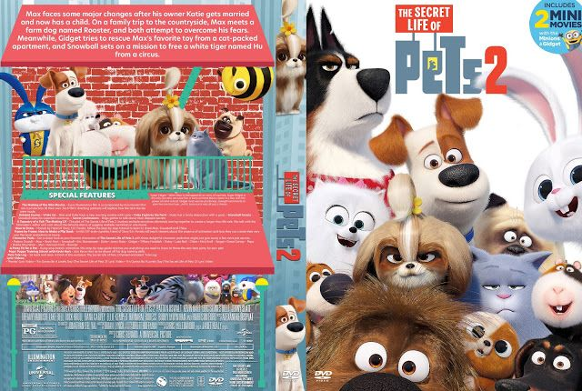 The Secret Life Of Pets 2 Dvd Cover Secret Life Of Pets Dvd Covers Farm Dogs