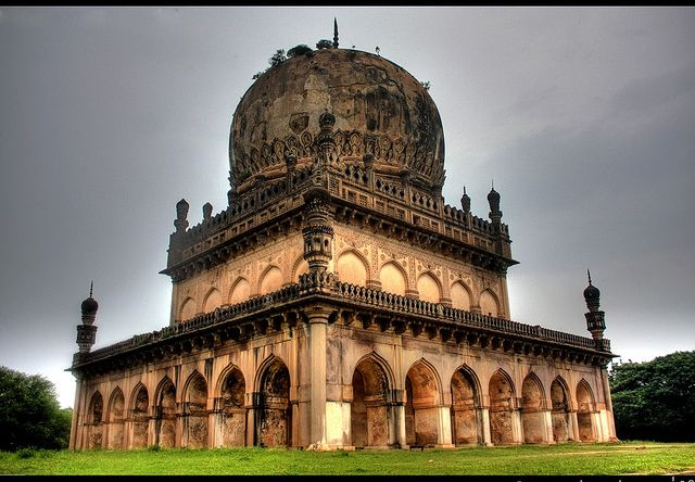 Qutub Shahi Tombs – Oldest Pieces of Hyderabadi History Hyderabadis Online http://hyderabadisonline.com/qutub-shahi-tombs-oldest-pieces-of-hyderabadi-history/ A kilometer away from the Golconda Fort, off the Banjara Darwaza to the north lie the tombs of the seven Qutub Shahi rulers of Deccan, inside the landscaped gardens of Ibrahim Bagh. Almost everyone who grew up in Hyderabad has been to these tombs, popularly known as the Seven Tombs, at least once with the school excursion, as it ...