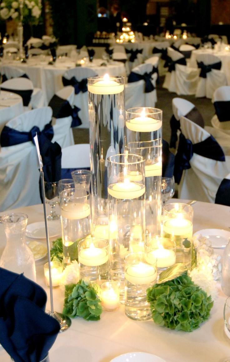 Best centerpiece three pillar candles images on