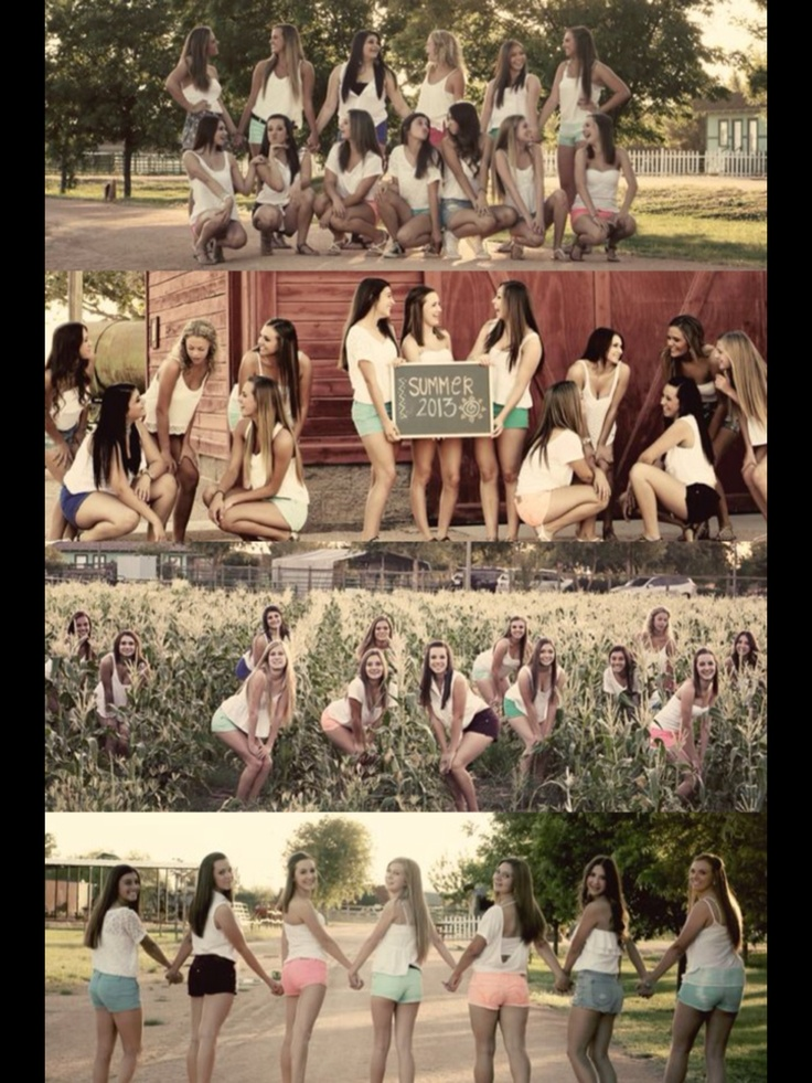 Senior pictures want to do this with my whole group of school friends, or with my volleyball team!!!