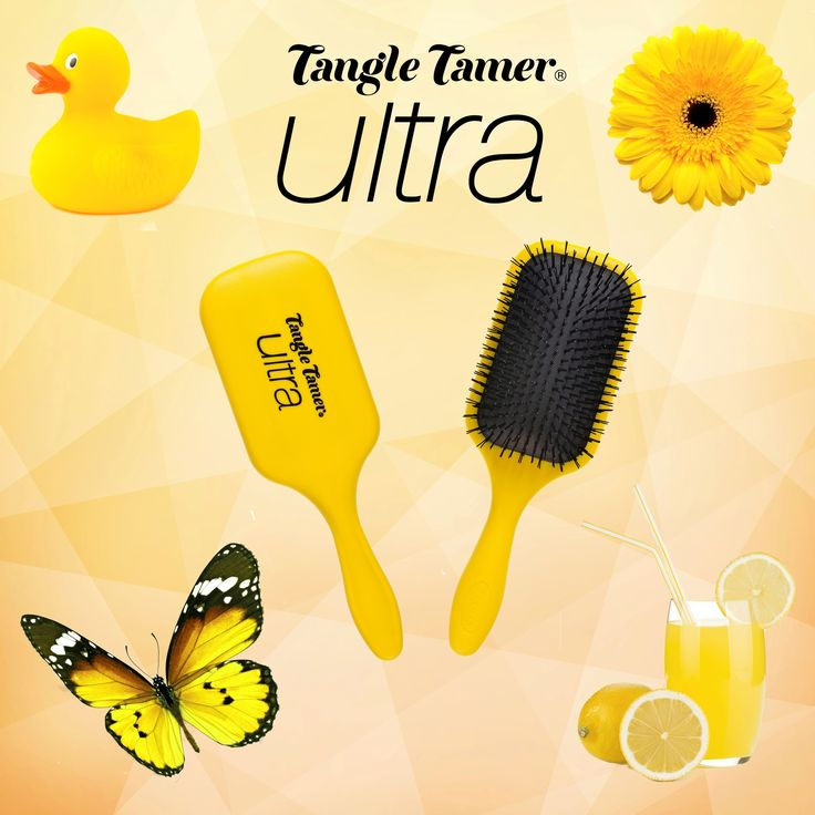 Loving the sun? Then check out our NEW Denman Yellow Tangle Tamer Ultra Brush! Great for detangling long thick hair: http://www.denmanbrush.com/acatalog/Tangle-Tamer-Ultra-Yellow.html