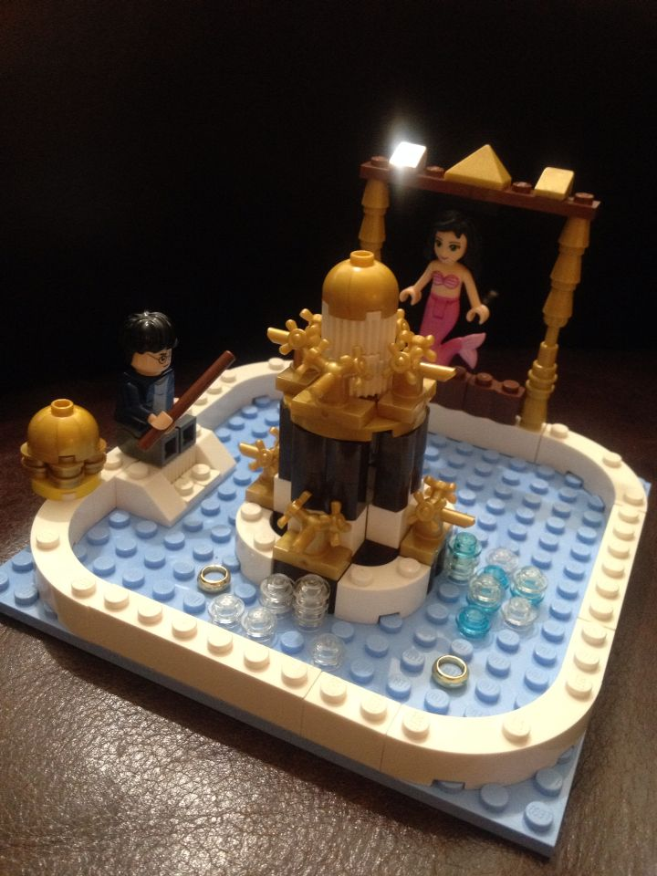 An original rendition of the Prefects Bathtub in the Goblet of Fire by Jayden.