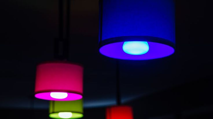 The second-gen Philips Hue Starter Kit works with Siri for voice-activated lighting changes.