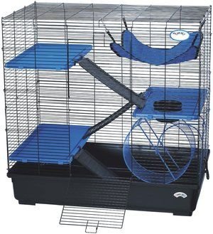 North Star Rescue's Guide to Pet Rat Cages has tips on space requirements, safety, and includes a break down of some of the best rat cages on the market and what types of rats they are best for.