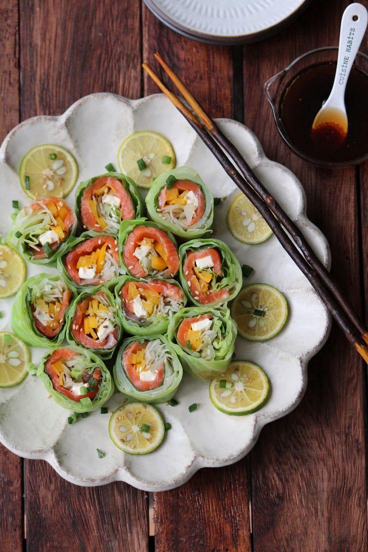 春キャベツとサーモンのロールサラダ。 by 栁川かおり | レシピサイト「Nadia | ナディア」プロの料理を無料で検索
