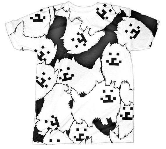 Undertale Shirt | Undertale Dog | Toriel Asriel Flowey Sans Papyrus Undyne Frisk | All Over Sublimation Print | HD Front and Back Tshirt