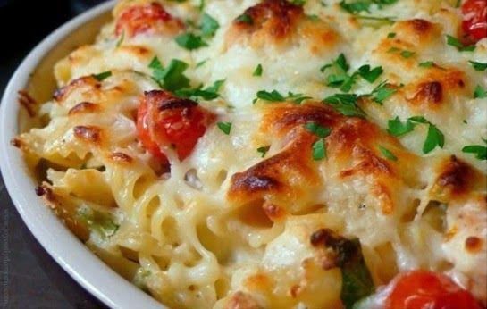 KoloDIY Food: Паста с курицей, сыром и шпинатом