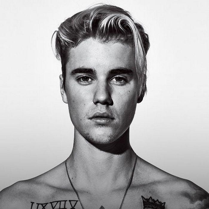 Lange Haare Auf Der Oberseite Kurze Seiten Justin Bieber Frisur