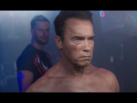 WWE 2K16 - Arnold Schwarzenegger Terminator Trailer - YouTube