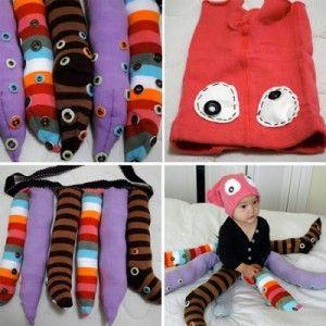 Pulpo, encuentra más ideas para disfraces caseros para niños aquí..http://www.1001consejos.com/disfraces-caseros-para-ninos/