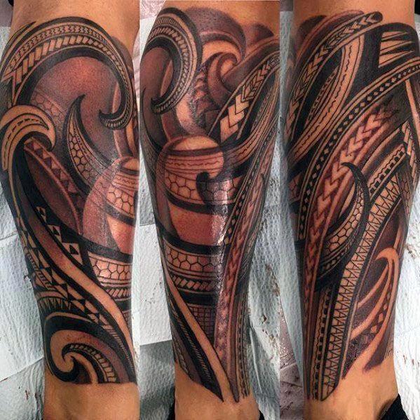 Maori Tattoos Cesc Fabregas Maoritattoos Polynesian Leg Tattoo Tattoo Designs Men Tribal Tattoos