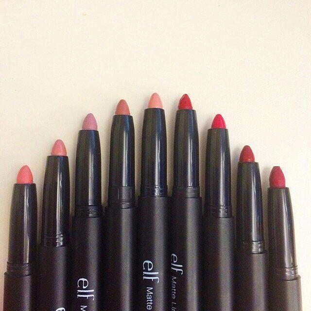 e.l.f. Matte Lip Color #playbeautifully #elfcosmetics