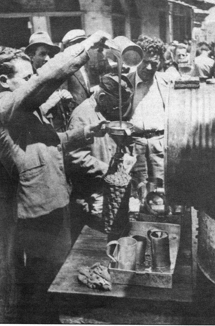 Greece.Black Market during German occupation (WW II)