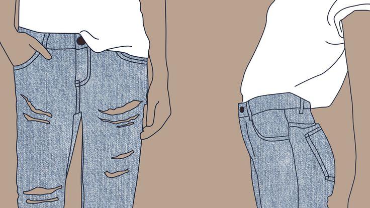 Jeans illustration - Jenny Odh