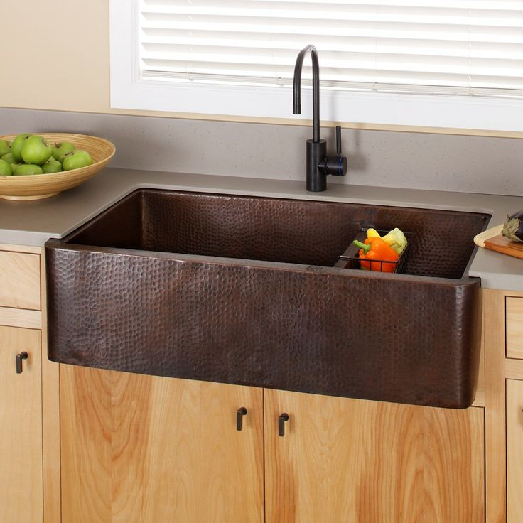 The Farmhouse Duet Pro Hand Hammered Copper Kitchen Sink Is A Great Choice  For Your Large Kitchen Design. With Two Amply Appointed Sink Wells For Easy.