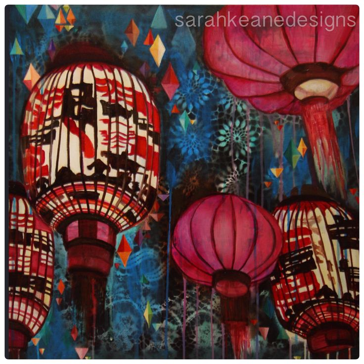 Lanterns by Sarah Keane Designs