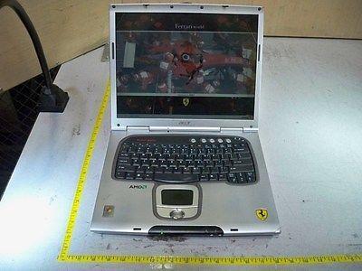 Acer Ferrari 3400 Laptop w/AMD Athlon 64@2.0GHz/1GB/80GB HD POST