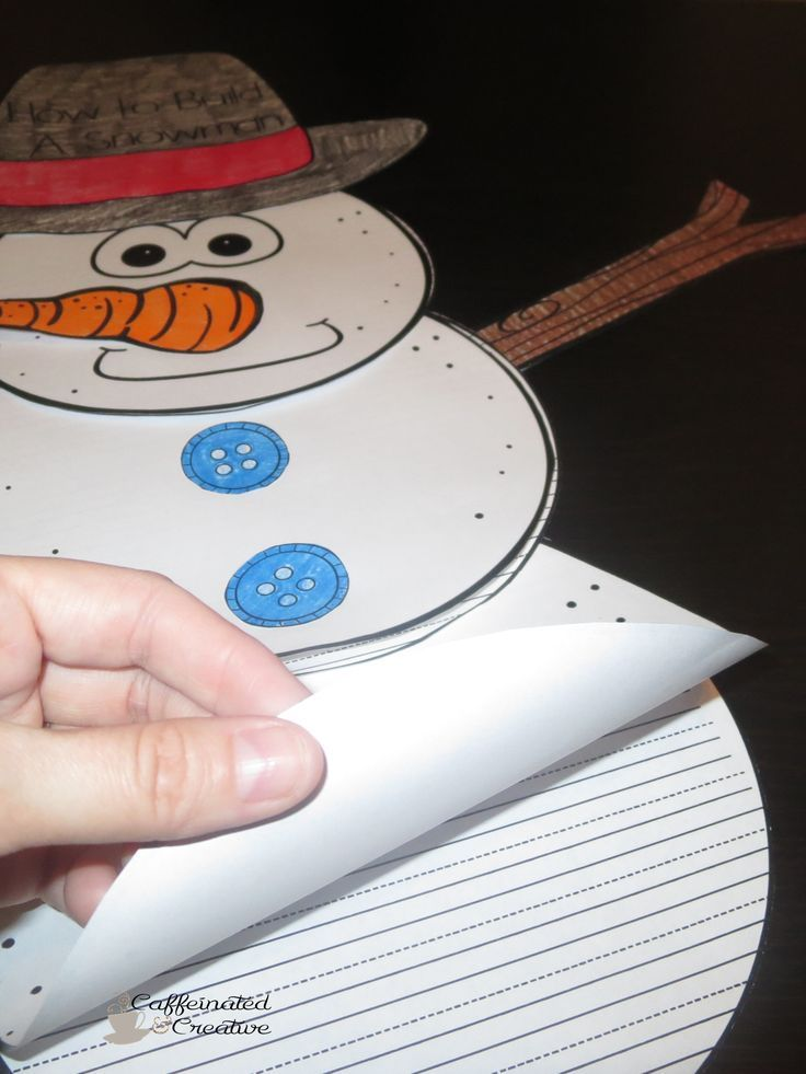 Build A Snowman Writing and Craftivity is a fun way to display your kiddos writing during the winter months! In this product are writing papers to go along with a snowman. If you are looking for more of an interactive writing activity, this is ALSO included! Directions are included on how to create and interactive snowman.