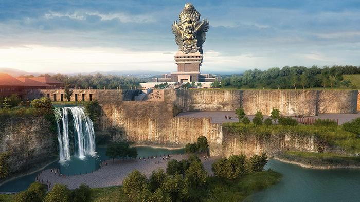 (6/3/2017) Radarbali.com reports that the construction of the Garuda Wisnu Kencana Monument in South Bali will be completed in October 2018, in time for a meeting of the International Monetary Fund (IMF) and World Bank to be held in Bali.