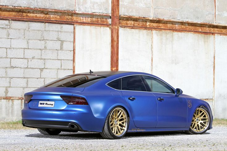 MR Racing Audi A7 3.0 TDI Sportback Tuning