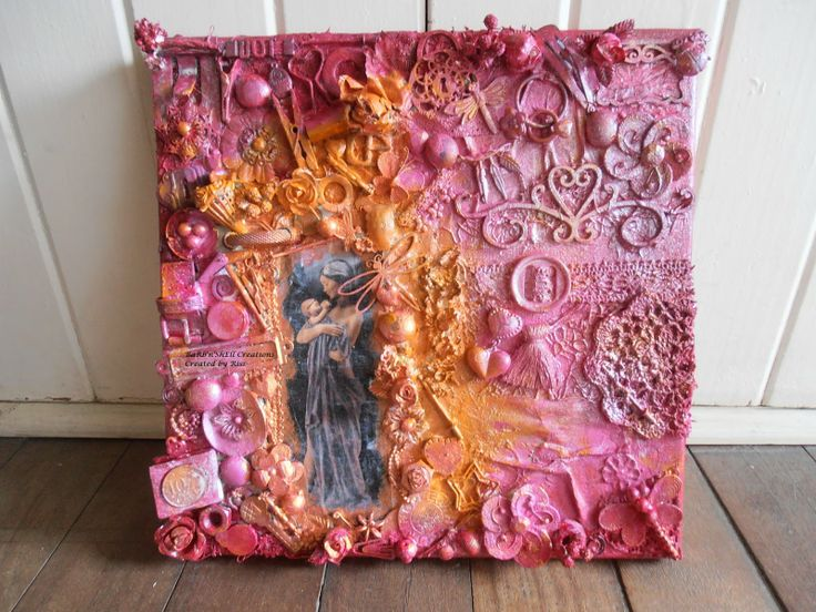 Multi / Mixed Media Canvas - created by Riss