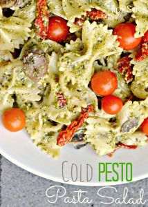 Pasta salads are a perfect side dish for summer gatherings and your family is sure to love this fresh tasting and easy to make cold and creamy pesto version. The mix of fresh & sun dried tomatoes with sautéed mushrooms adds even more delicious flavor. Ingredients: 1 – 16oz. box bow tie or penne pasta 1 cup pesto […]