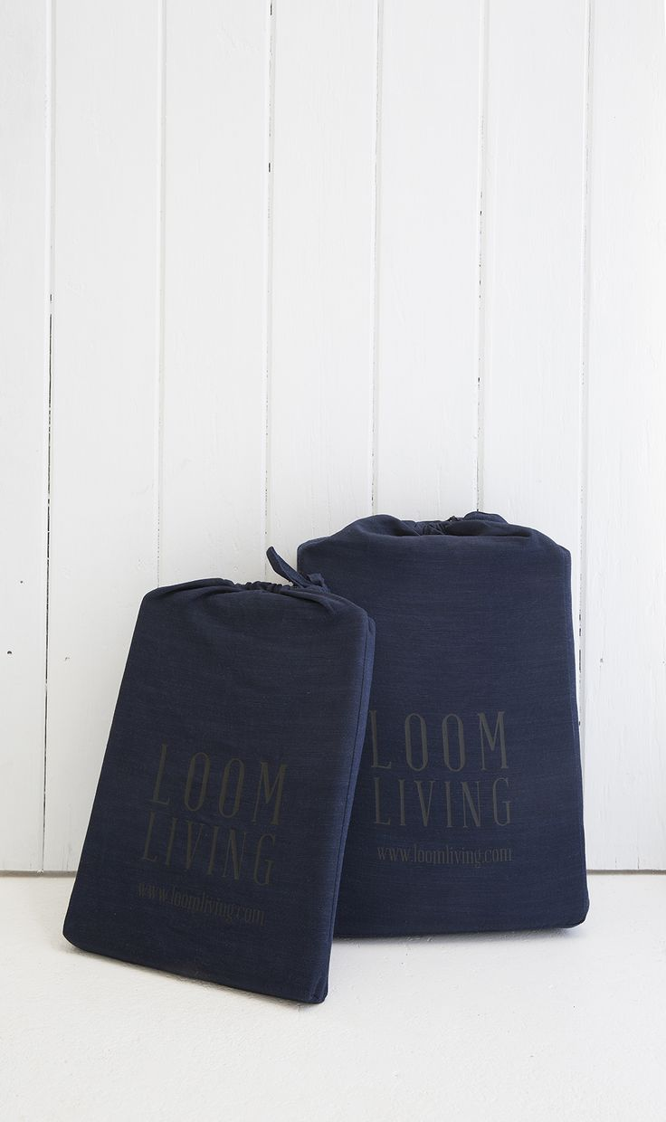 Bamboo cotton bed linen packaged the environmentally friendly way. Reuse this bag for so many things, travel, storage, organisation.