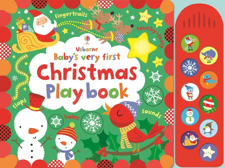 "Find out more about ""Baby's very first touchy-feely Christmas play book"", write a review or buy online."