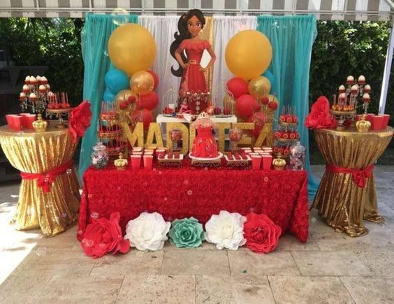 Fiesta de princesa Elena de Avalor (4) - Decoracion de Fiestas Cumpleaños Bodas, Baby shower, Bautizo, Despedidas