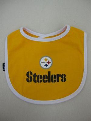 steelers merchandise pittsburgh steelers two pieces baby bibs - Pittsburgh Steelers Merchandise