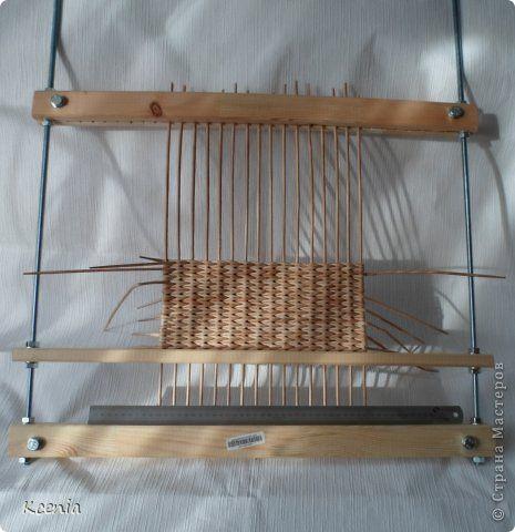Поделка изделие Плетение Плетеные поднос короб   Трубочки бумажные фото 19
