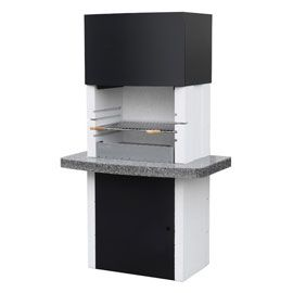 barbecue en pierre reconstitue vancouver crystal castorama. Black Bedroom Furniture Sets. Home Design Ideas