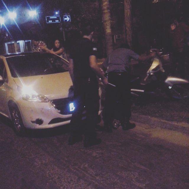#YA accidente entre auto Peugeot 208 y moto guerrero 110 cc salta y córdoba #imagenprimeroya