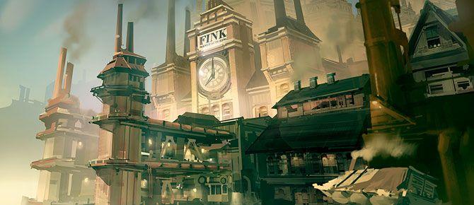 Mais artes de Bioshock Infinite, por Ben Lo