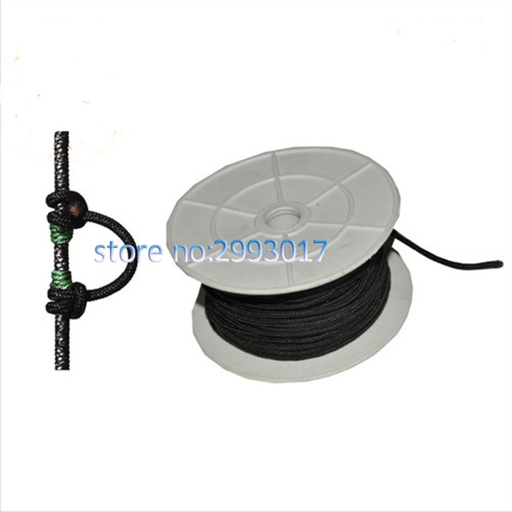 100 ft Archery Compound Bow D loop Super Durable Bowstring Release Aid Shooting Bow Accessory Hunting