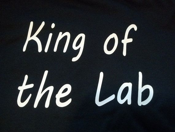 Bones TV Show Inspired King of the Lab shirt  by JustAnAwesomeMom, $10.00