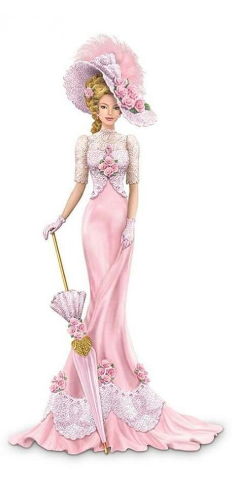 Lovely Victorian Lady | Victorian/Edwardian fashion | Pinterest)
