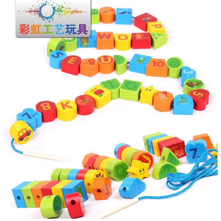 cheap juguetes educativos para nios envo gratis madera fruto del grano forma animal juguetes