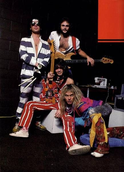 A very cool Van Halen photo