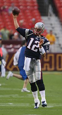 10 greatest NFL Players #9 - Tom Brady - Wikipedia, the free encyclopedia