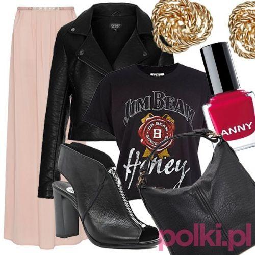 Stylizacje ze spódnicą max #polkipl