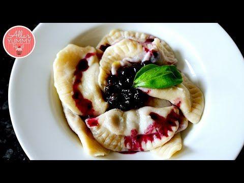 Blueberry Vareniki/ Pierogi | Allasyummyfood | HOME PAGE