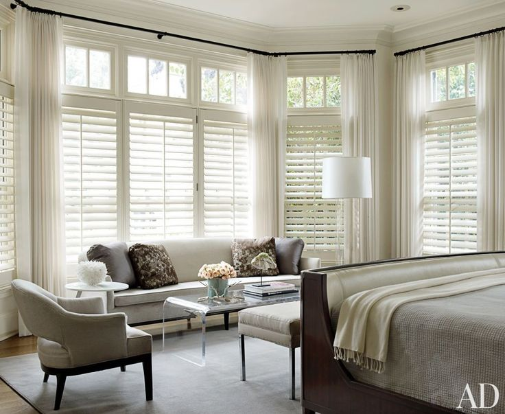 Contemporary Bedroom by S. Russell Groves in Raleigh, North Carolina | Modern Sofas. Living Room Inspiration. Bedroom Ideas. Bedroom sofa. #modernsofas #bedroomsofa
